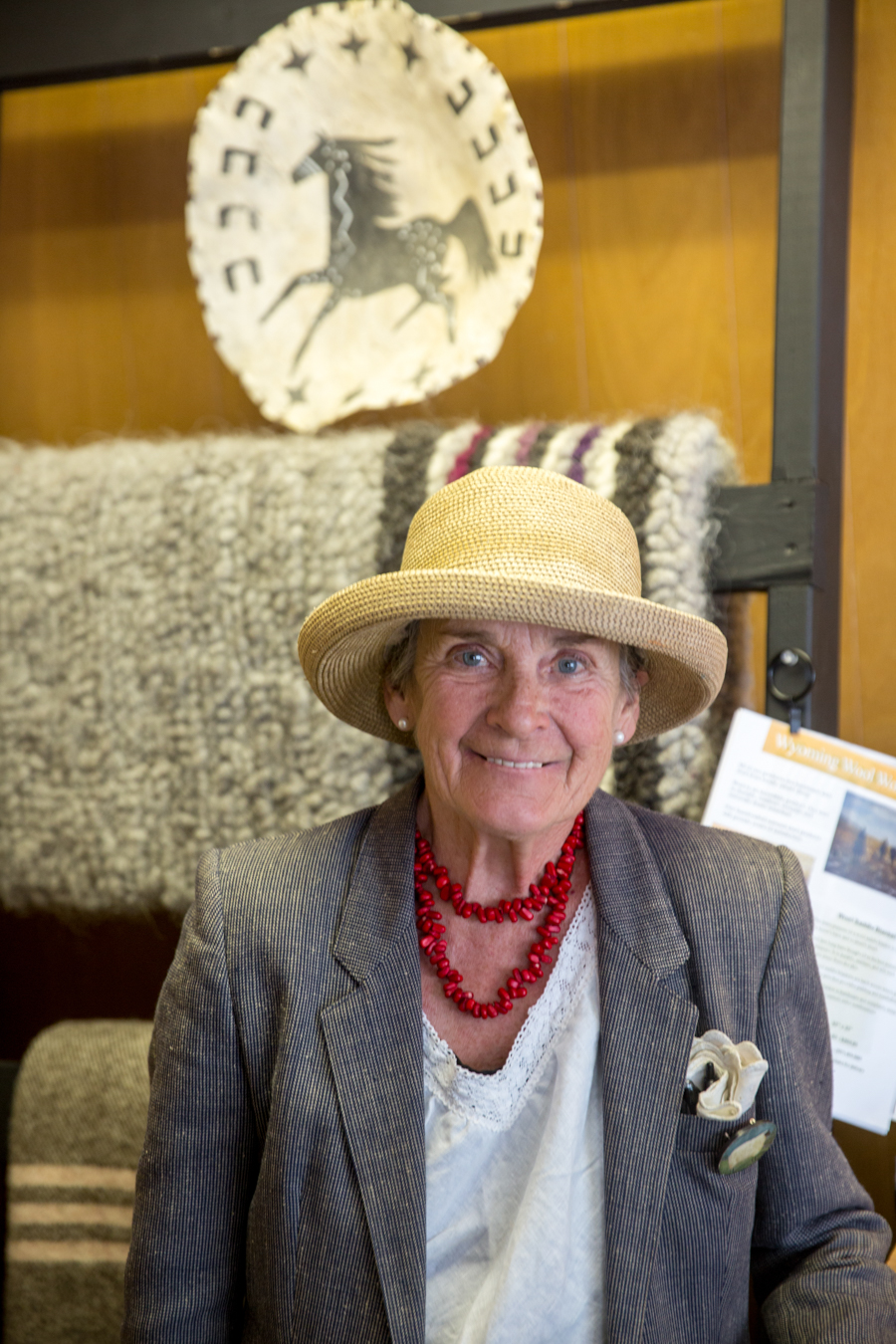 Anita, owner of Wyoming Wool