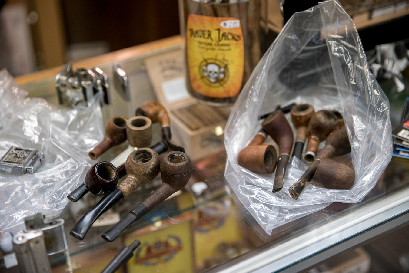Antique pipes we purchased in Gillette