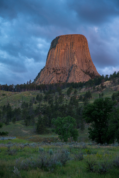 Devils Tower Sunrise